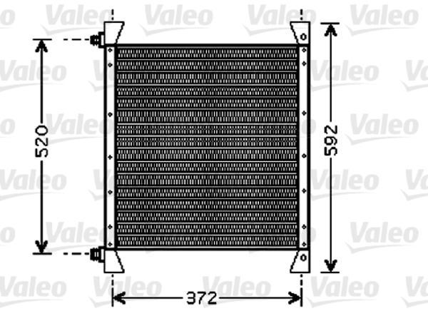Valeo Airco condensor 818039