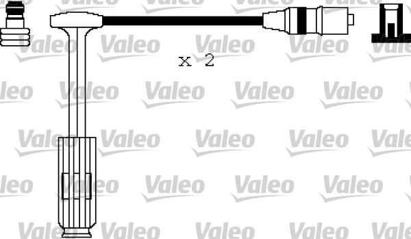 Valeo Bougiekabelset 346145