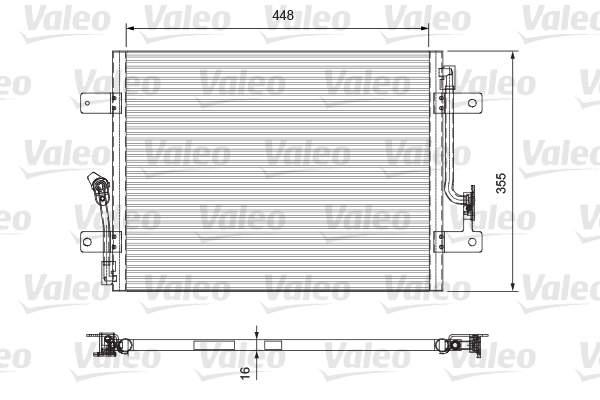 Valeo Airco condensor 818065