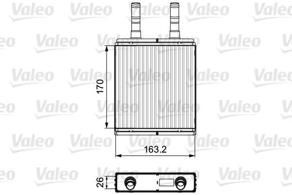 Valeo Kachelradiateur 812409