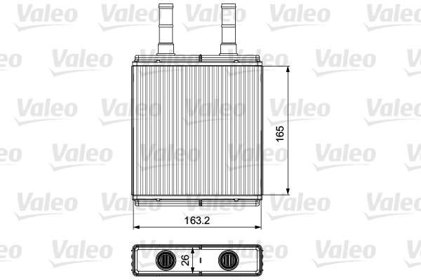 Valeo Kachelradiateur 812427