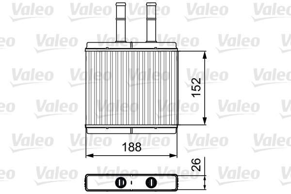 Valeo Kachelradiateur 812442