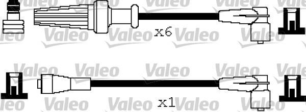 Valeo Bougiekabelset 346206