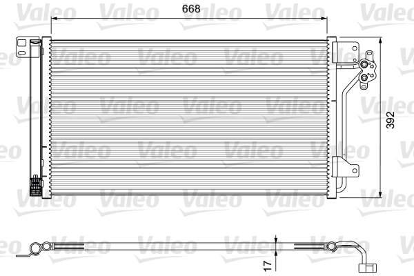 Valeo Airco condensor 814015