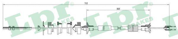 Lpr Koppelingskabel C0005C